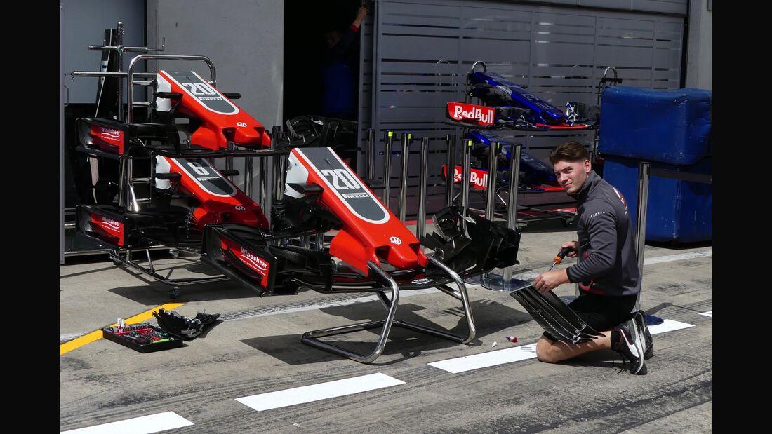 Haas F1 - Formel 1 - GP Österreich - 27. Juni 2018