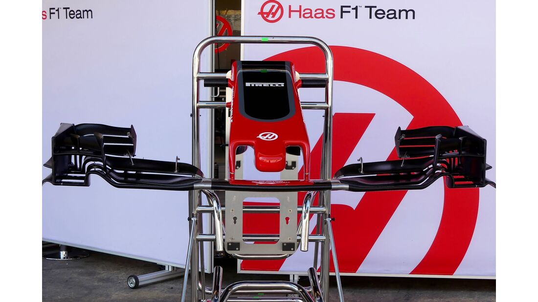 Haas F1 - Formel 1 - GP Spanien - 10.Mai 2017