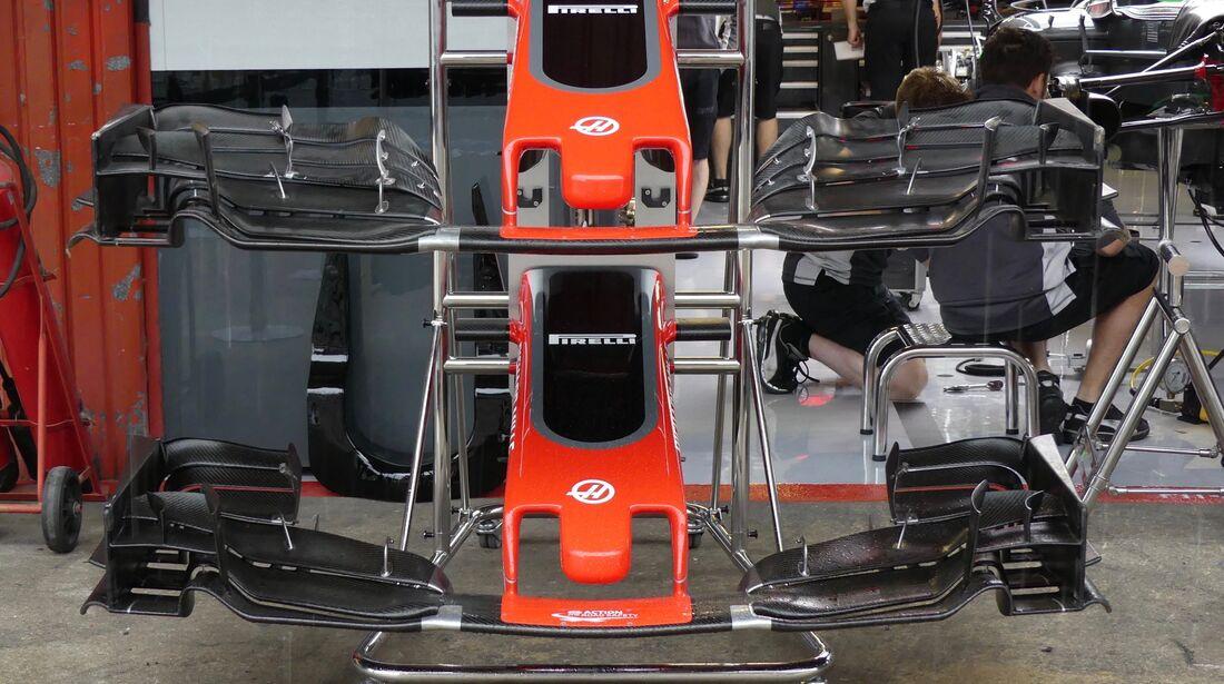 Haas F1 - Formel 1 - GP Spanien - 11. Mai 2017