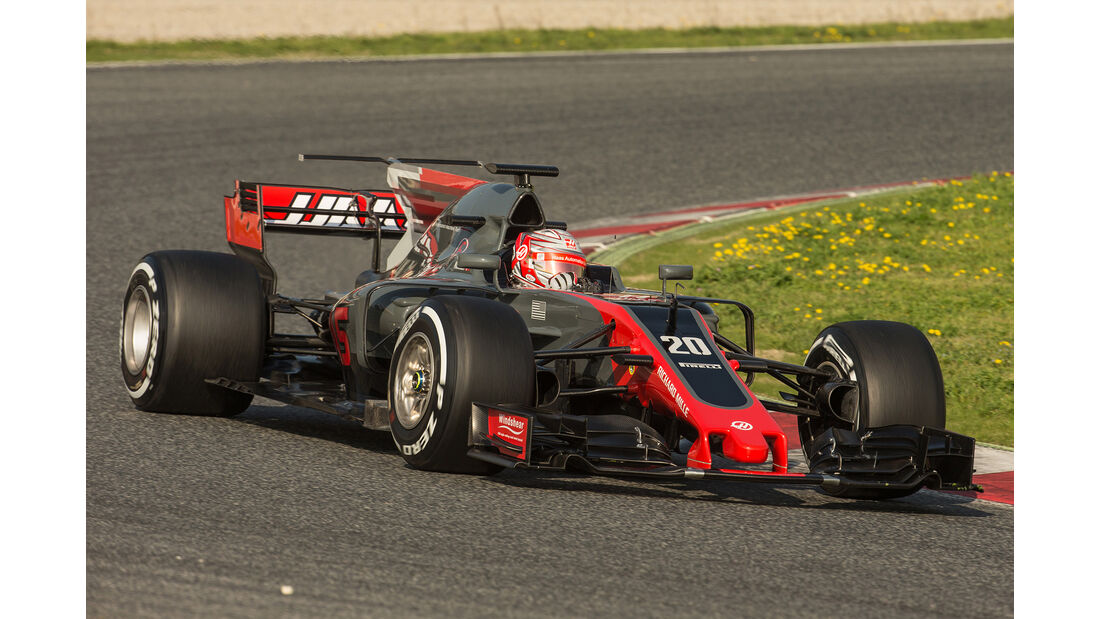 Haas F1 - Formel 1 - Test - Barcelona - 2017