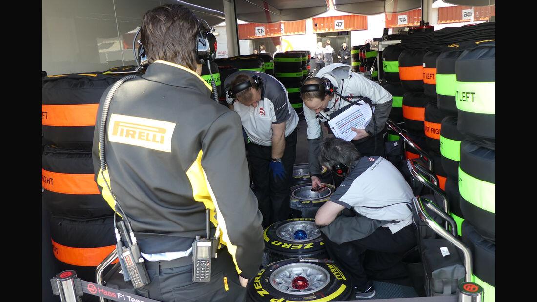 Haas F1 - Formel 1-Test - Barcelona - 3. März 2016