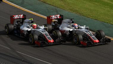 Haas F1 - GP Australien 2016