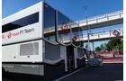 Haas F1 - Motorhome - GP Spanien 2016 - Barcelona