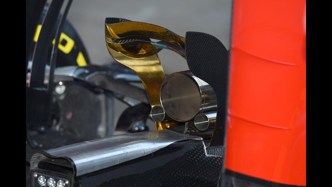 Haas F1 - Technik - Barcelona Tests - 2016