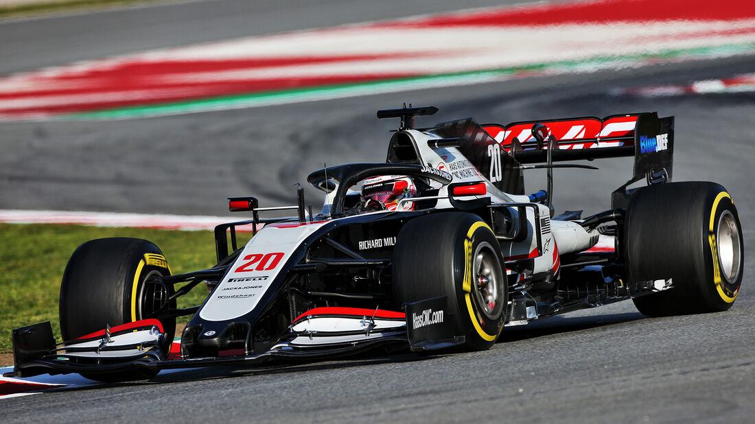 Haas - F1-Test - Barcelona - 2020