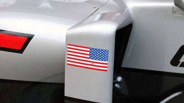 Haas F1 - USA - Flagge 2016