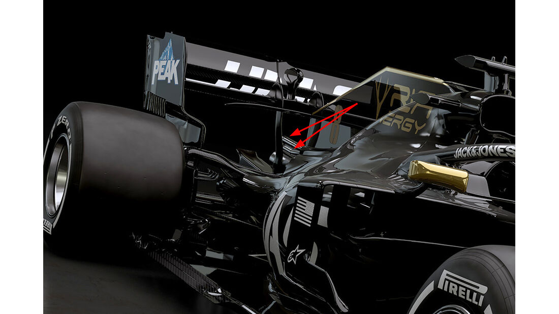 Haas F1 VF-19 - Formel 1 - 2019