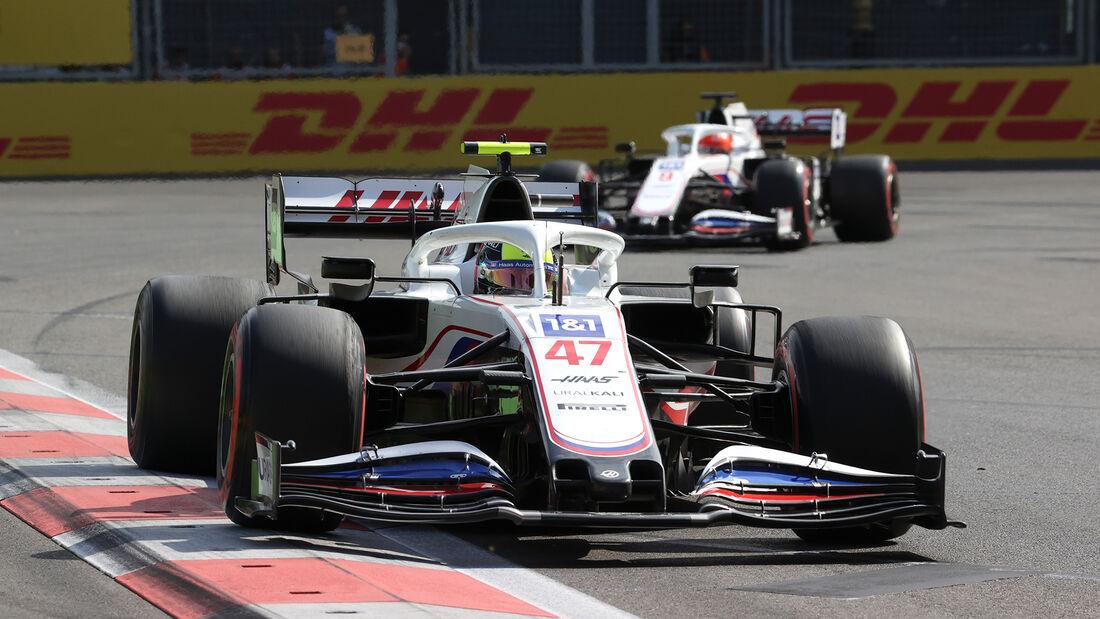 Haas - Formel 1 - GP Aserbaidschan 2021