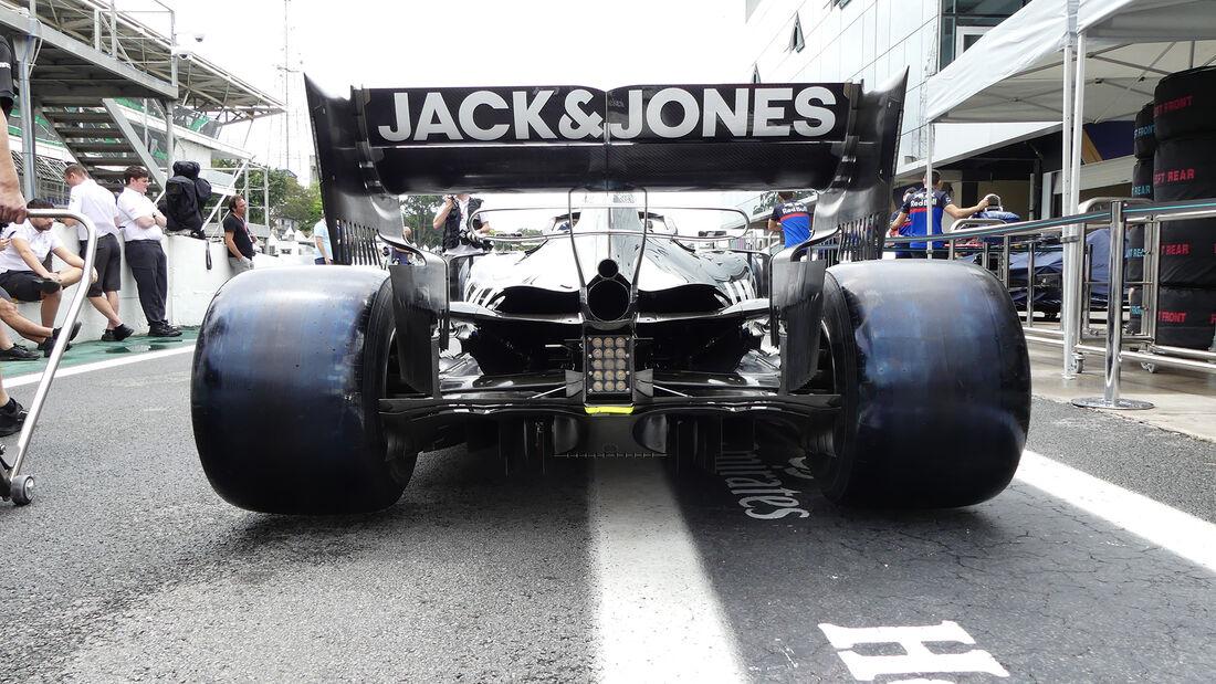 Haas - Formel 1 - GP Brasilien - Sao Paulo - 14. November 2019
