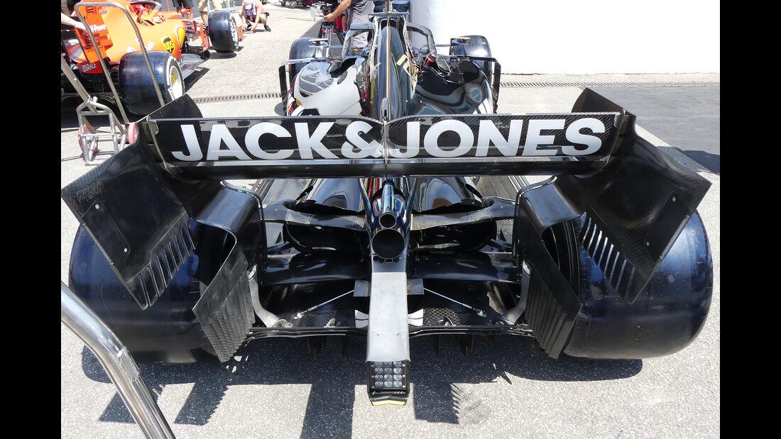 Haas - Formel 1 - GP Deutschland - Hockenheim - 25. Juli 2019