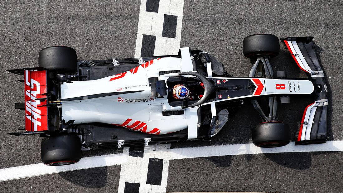 Haas - Formel 1 - GP England 2020