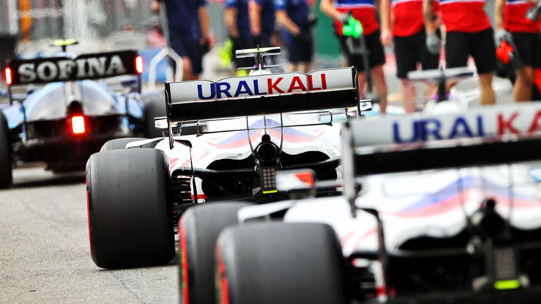 Haas - Formel 1 - GP Frankreich - Le Castellet - 19. Juni 2021