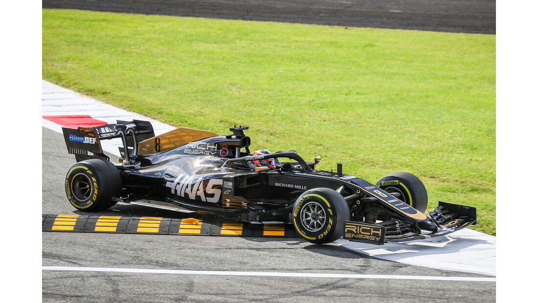 Haas - Formel 1 - GP Italien - Monza - 2019