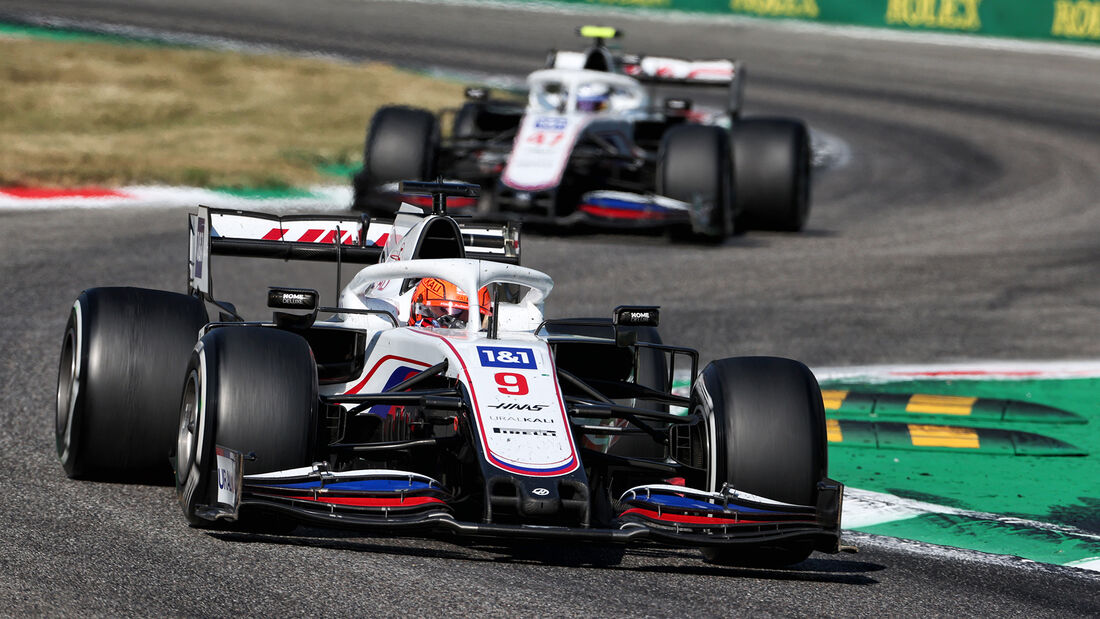 Haas - Formel 1 - GP Italien - Monza - 2021