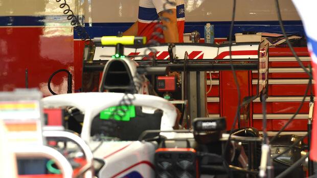Haas - Formel 1 - GP Italien - Monza - 9. September  2021