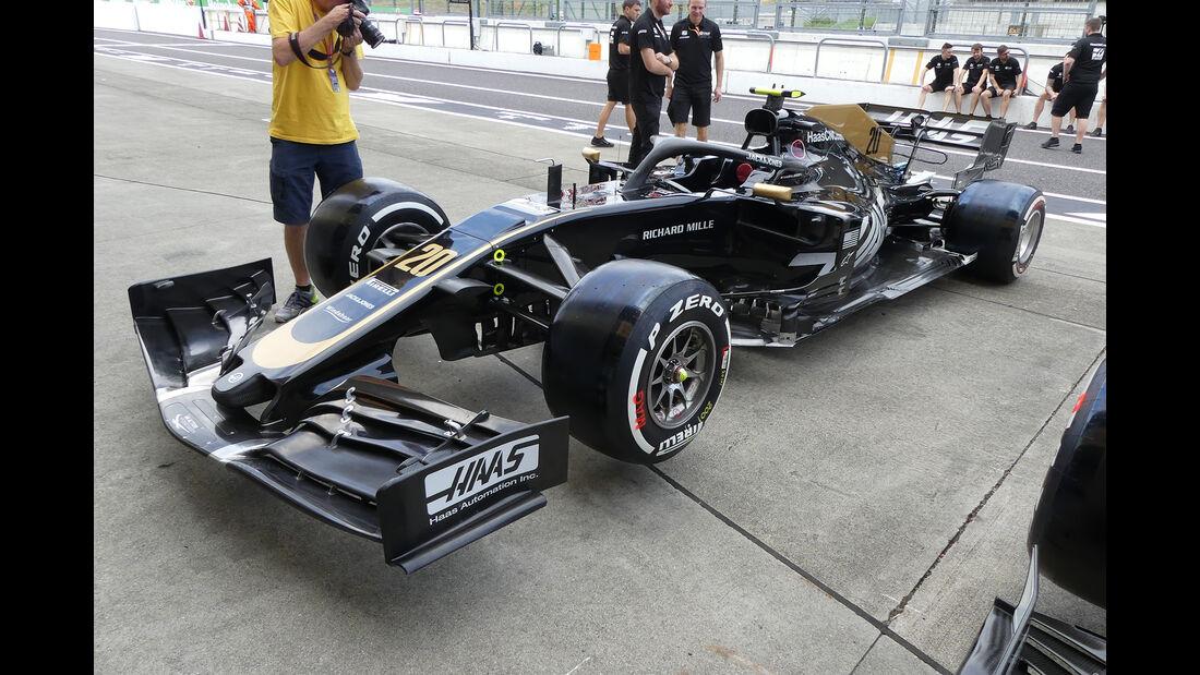 Haas - Formel 1 - GP Japan - Suzuka - 10. Oktober 2019