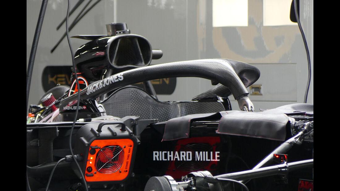 Haas - Formel 1 - GP Japan - Suzuka - 9. Oktober 2019