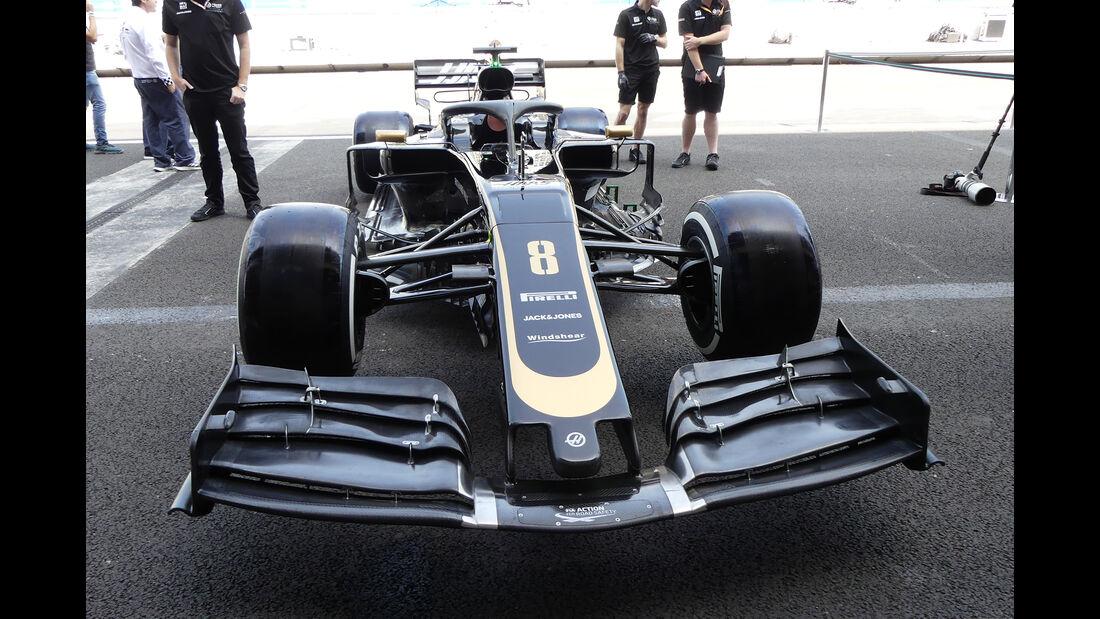 Haas - Formel 1 - GP Mexiko - 24. Oktober 2019