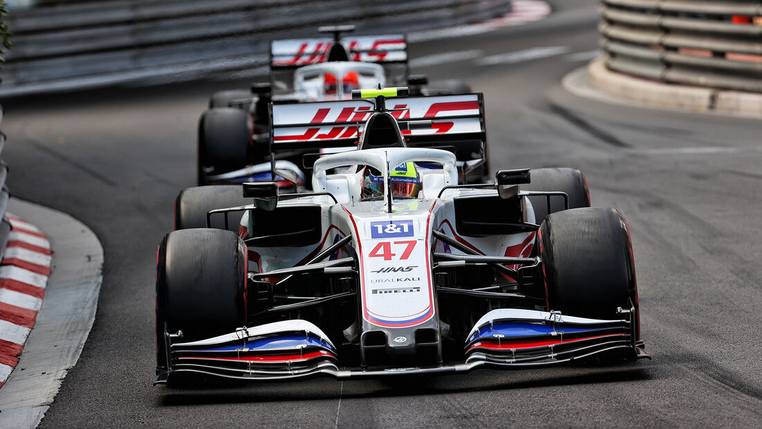 Haas - Formel 1 - GP Monaco - 2021
