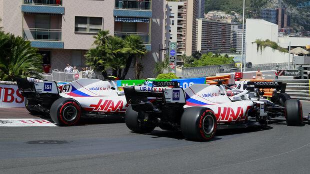 Haas - Formel 1 - GP Monaco - 23. Mai 2021