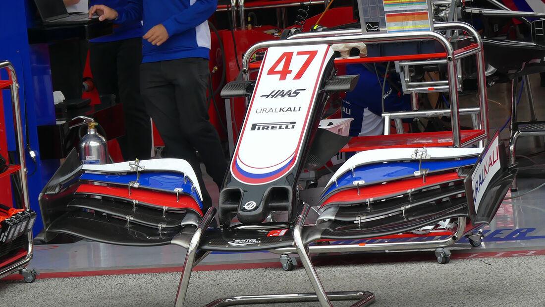 Haas - Formel 1 - GP Niederlande - Zandvoort - 2. September 2021