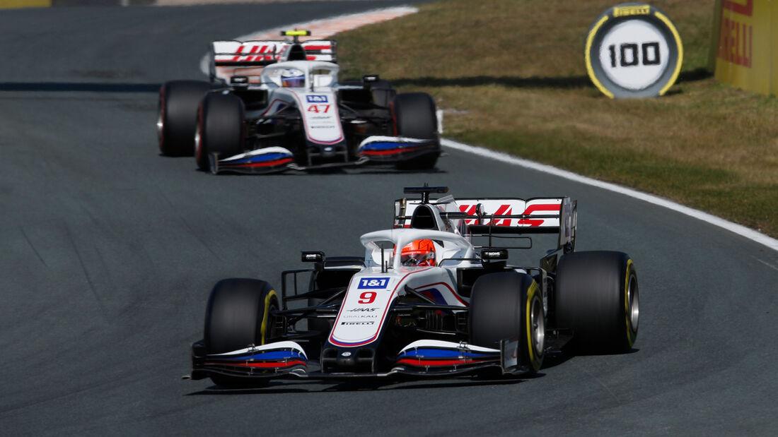 Haas - Formel 1 - GP Niederlande - Zandvoort - 2021