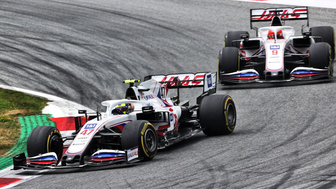 Haas - Formel 1 - GP Österreich 2021