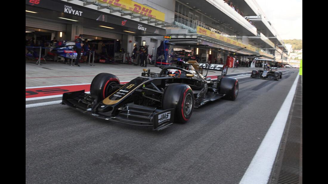 Haas - Formel 1 - GP Russland 2019