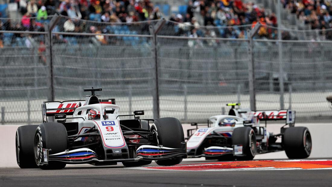 Haas - Formel 1 - GP Russland 2021