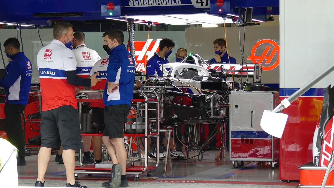 Haas - Formel 1 - GP Russland - Sotschi - Donnerstag - 23.09.2021