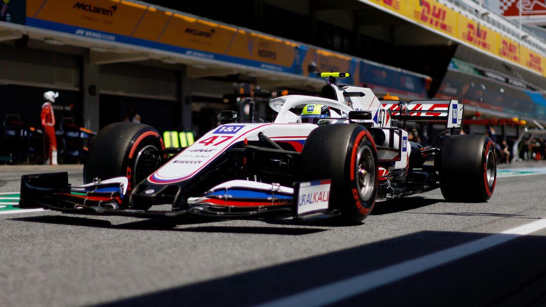 Haas - Formel 1 - GP Spanien 2021