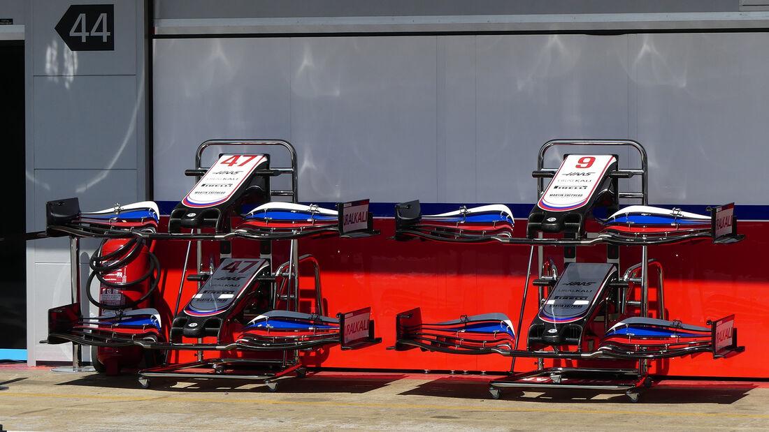 Haas - Formel 1 - GP Spanien - Donnerstag - 6.5.2021