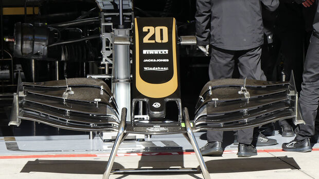 Haas - Formel 1 - GP USA - Austin - 31. Oktober 2019