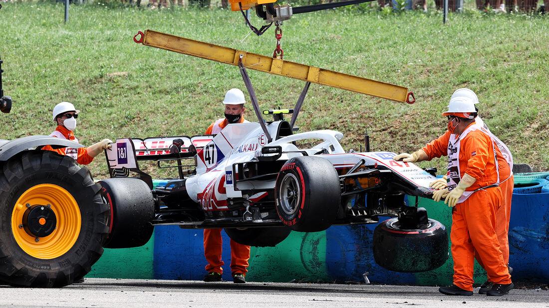 Haas - Formel 1 - GP Ungarn 2021