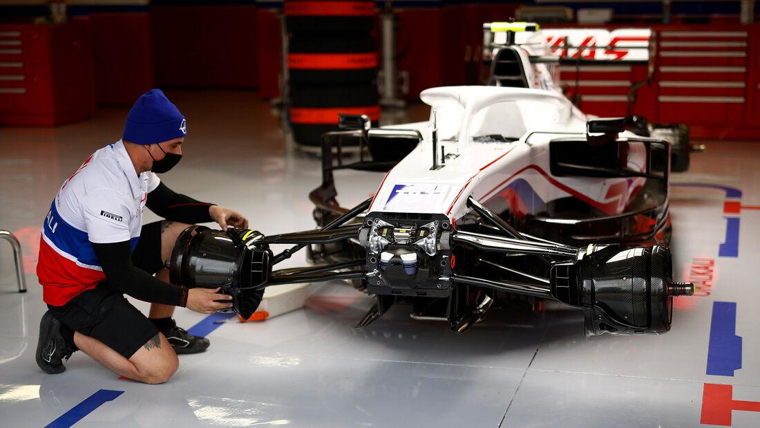 Haas - Formel 1 - Imola - GP Emilia-Romagna - 15. April 2021