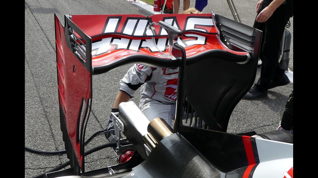 Haas - Formel 1-Technik - GP Belgien / GP Italien - 2016