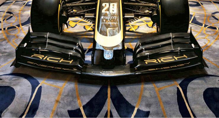Haas - Frontflügel - F1 - 2019