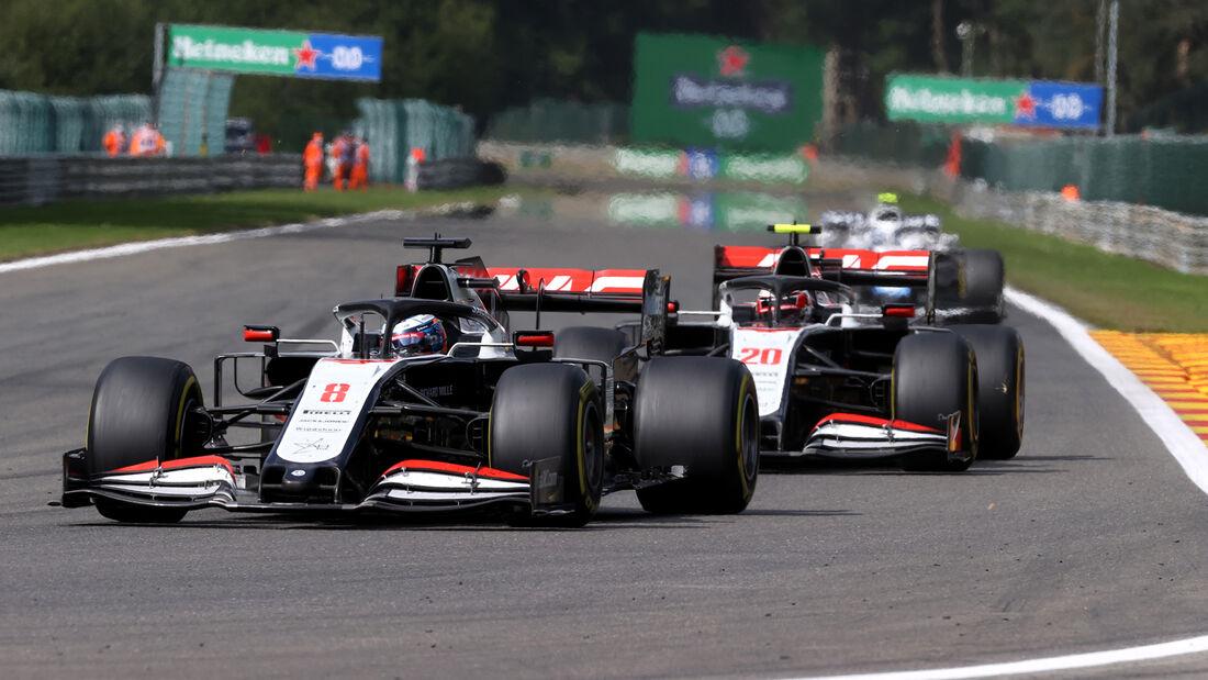 Haas - GP Belgien 2020