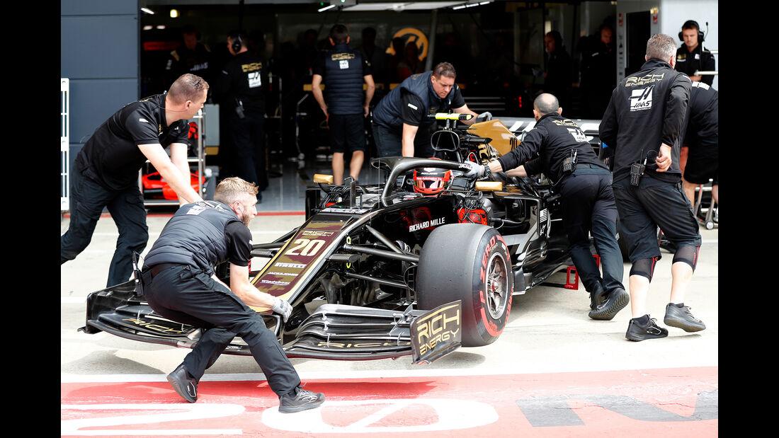 Haas - GP England 2019