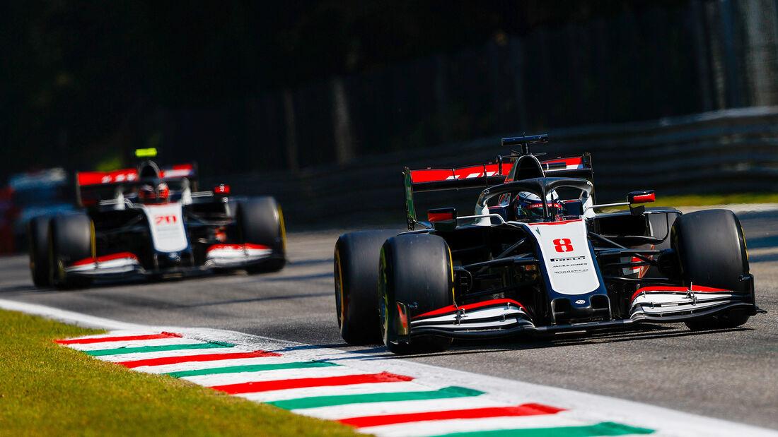 Haas - GP Italien 2020
