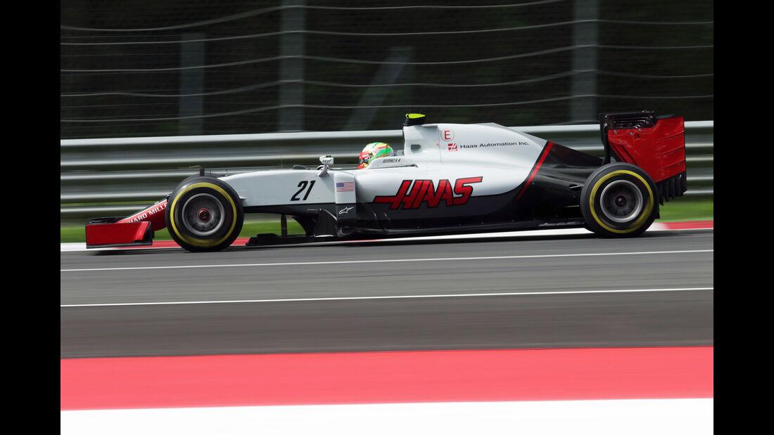 Haas - GP Österreich 2016