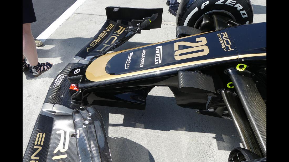 Haas - GP Ungarn - Budapest - Formel 1 - Donnerstag - 1.08.2019