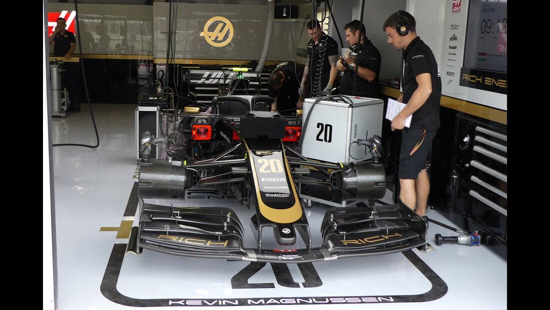 Haas - GP Ungarn - Budapest - Formel 1 - Freitag - 2.8.2019