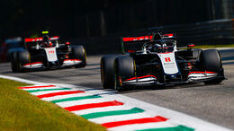 Haas - Grosjean & Magnussen - GP Italien 2020