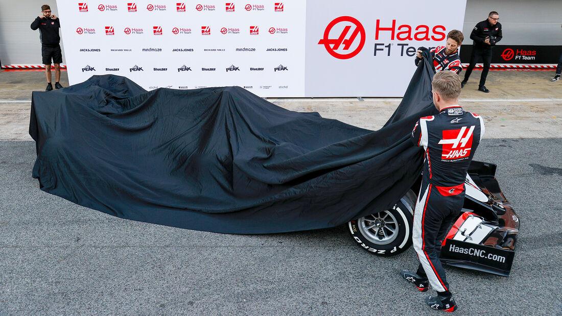 Haas - Launch - Enthüllung - Barcelona 2020