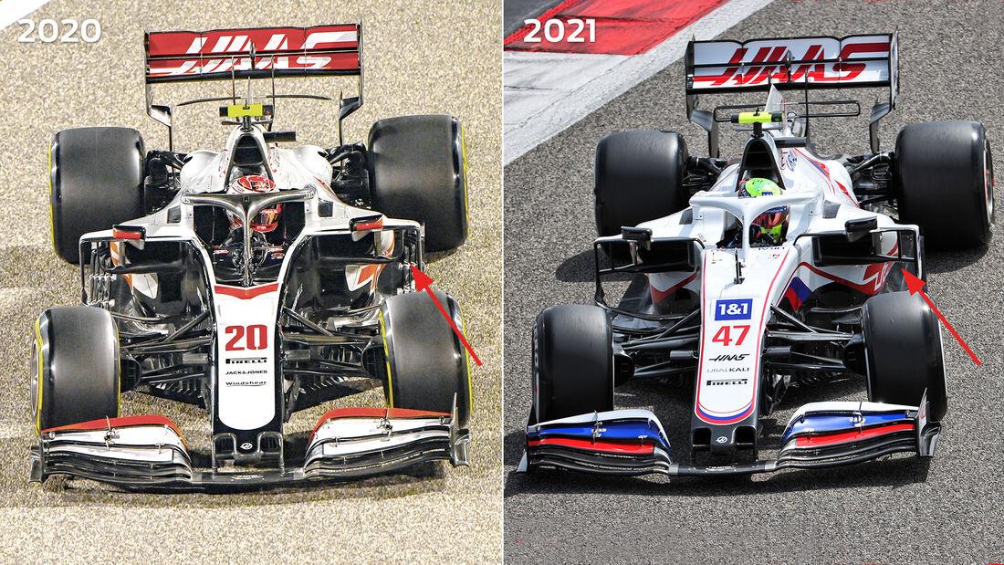 Haas - Technik-Details - Formel 1 - 2021