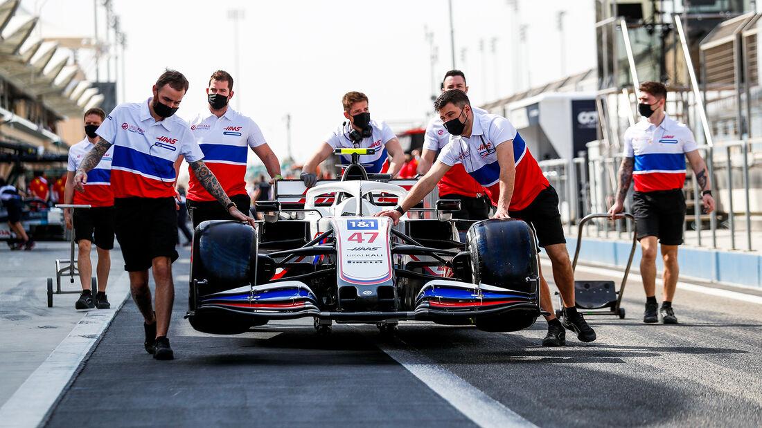 Haas - Test - Formel 1 - Bahrain - 12. März 2021