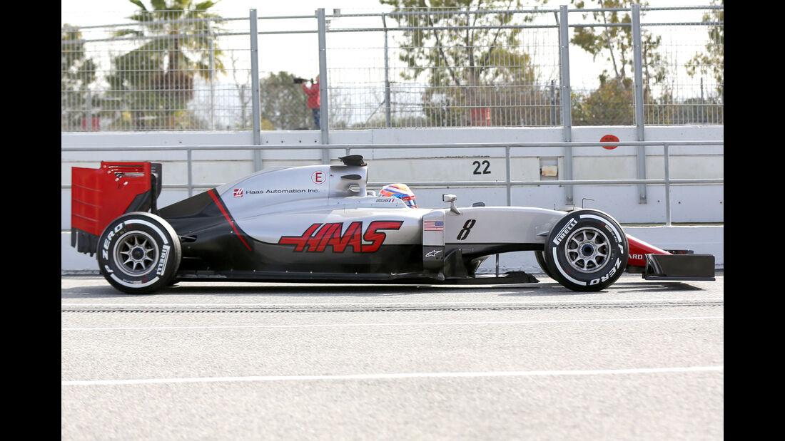 Haas VF-16 - F1 2016 - Profil