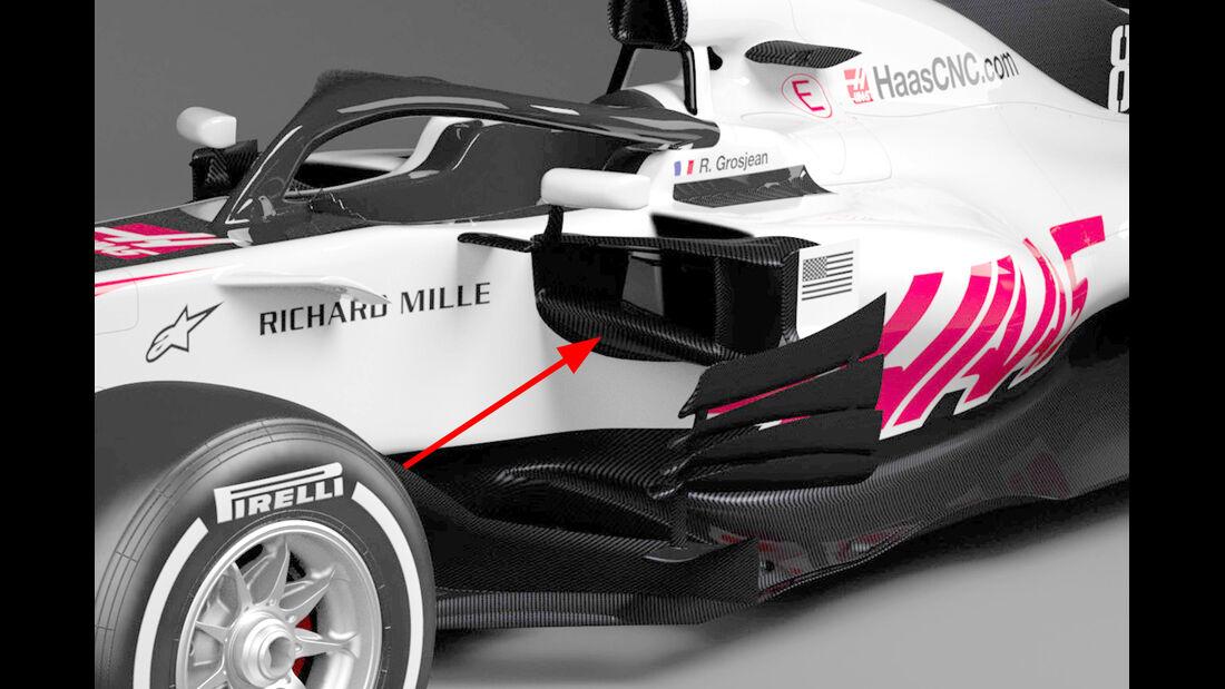 Haas VF-18 - F1 2018