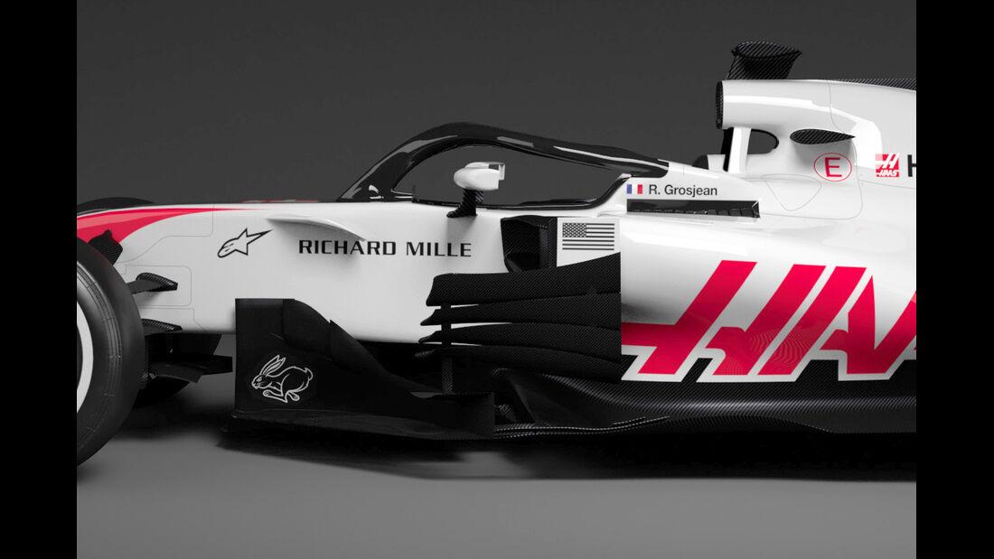 Haas VF-18 - F1-Auto - 2018